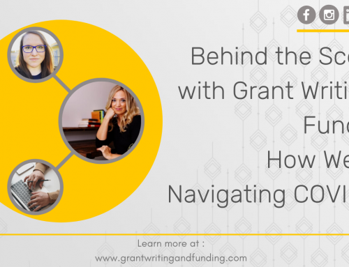 121. Behind the Scenes with Grant Writing & Funding: How We Are Navigating COVID-19