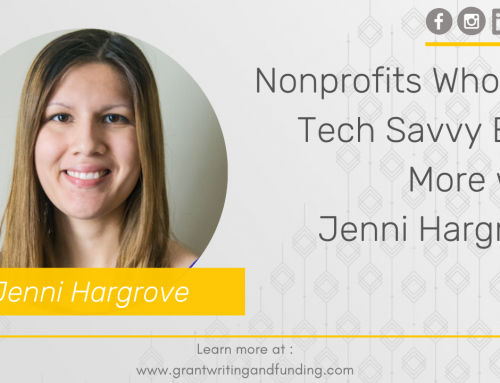 122. Nonprofits Who Get Tech Savvy Earn More with Jenni Hargrove