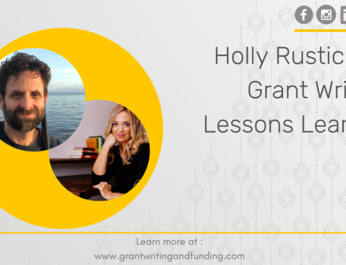 Holly Rustick on Grant Writing Lessons Learned