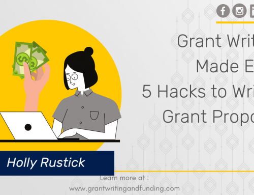 #141: Grant Writing Made Easy: 5 Hacks to Write a Grant Proposal