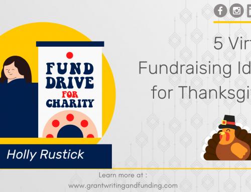 #145: 5 Virtual Fundraising Ideas for Thanksgiving