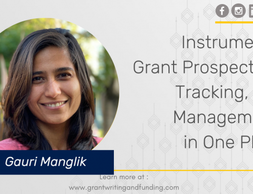 #173: Instrumentl: Grant Prospecting, Tracking, and Management in One Place
