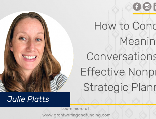 #174: How to Conduct Meaningful Conversations for Effective Nonprofit Strategic Planning