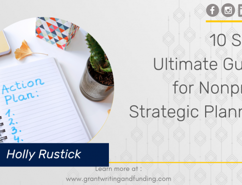 #176: 10 Step Ultimate Guide for Nonprofit Strategic Planning