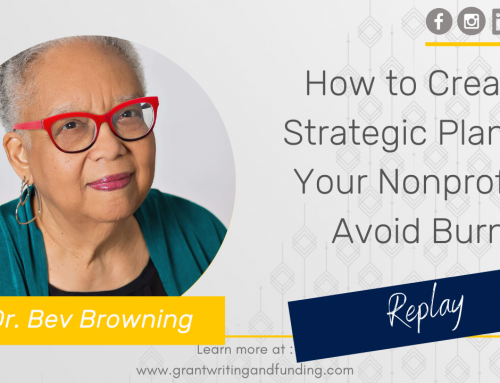 #178: How to Create a Strategic Plan for Your Nonprofit & Avoid Burnout