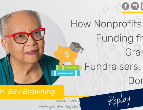 #179: How Nonprofits Get Funding from Grants, Fundraisers, and Donors
