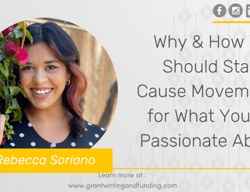 #184: Why & How You Should Start a Cause Movement for What You are Passionate About